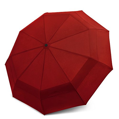 EEZ-Y Compact Double Vented Folding Umbrella