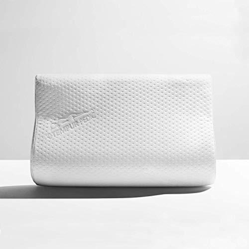 Tempur-Pedic TEMPUR-Ergo Neck Pillow Firm Support, Small, White