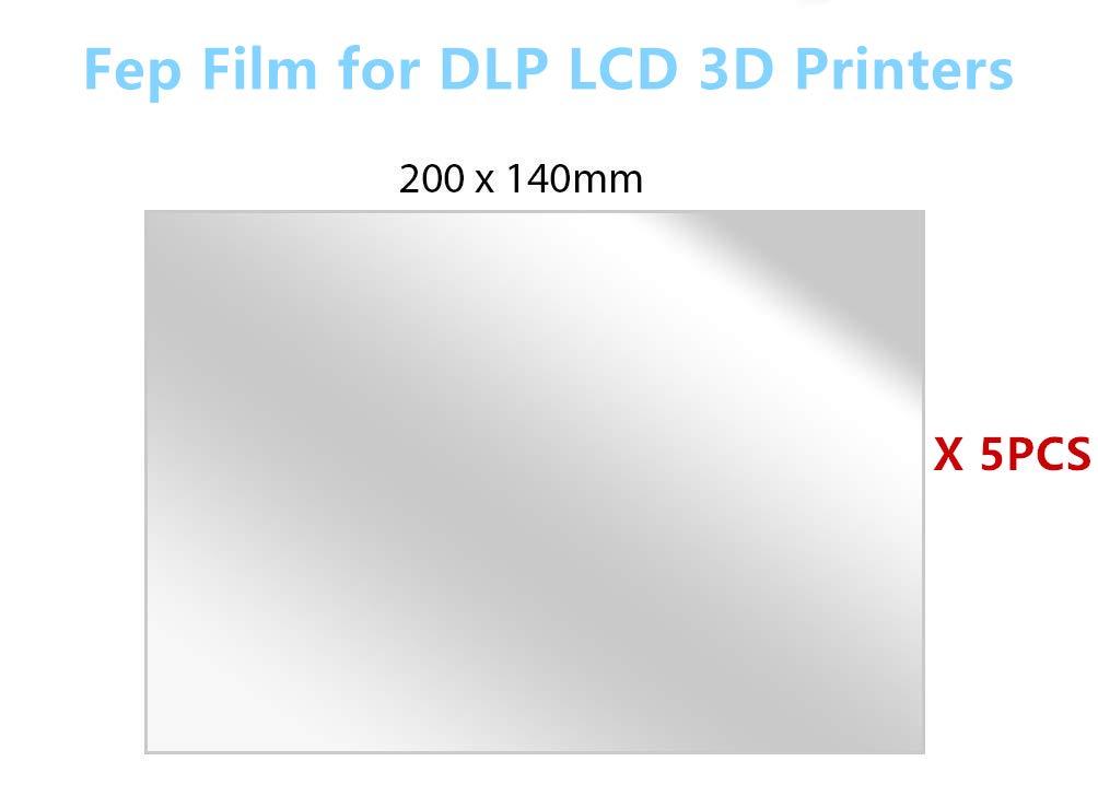 TMDN 5PCS fep film/folie para SLA LCD impresoras 3D, 200 ...