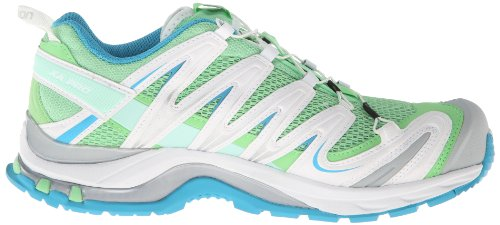 Salomon XA Pro 3D, Chaussures de Trail Femme Vert - verbena green/white/boss blue