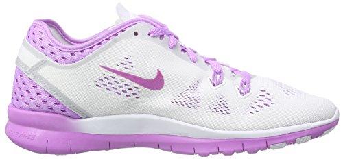 Nike Free TR 5 Breathe - Zapatillas Para Mujer White/Soar-Wolf Grey-Grn Glow 101