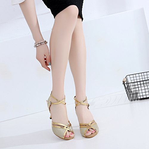 Minitoo 5cm Heel Gold Ballroom Donna 7 4n8T0