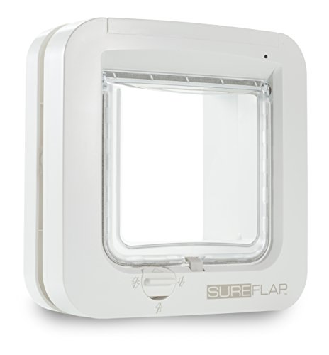 SureFlap Microchip Cat Door- White 41i52D2eQPL