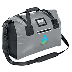 With its PVC exterior, tough welded seams & secure roll-down top, our waterproof DuffelSak Dry Bag seals out rain, snow, mud & sand. It has padded handles, a shoulder strap, 3 pockets & reflective trim. Boating? Camping? Traveling...