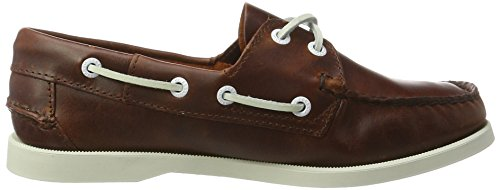 Dockside Sebago Brown Waxy Loafer Penny Leather Oiled Women's 55wqprZ