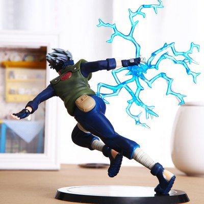 Naruto Hatake Kakashi PVC Static Action Figure Model Office Decor – 6.3 inch by PhoenixGor