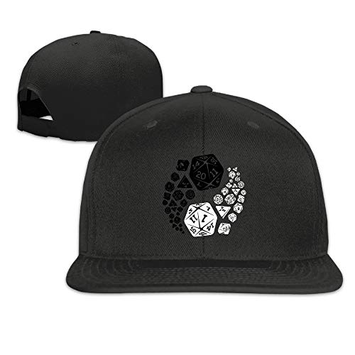 b58994ec7f9 WENEOO LA Men s Unisex Dungeons and Dragons Yin Yang Good and Evil Rock Cap  Summer Baseball