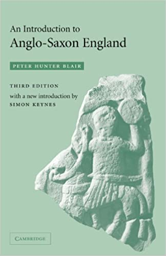 Book An Introduction to Anglo-Saxon England by Peter Hunter Blair (2003-08-25)