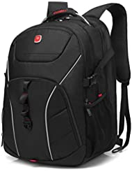 Laptop Backpack , CoolBELL 18.4 Inch Computer Bag With USB Port Water-resistant Rucksack Hiking Knapsack Checkpoint-Friendly...
