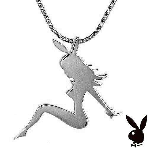 Playboy necklace white trash charm bunny mud flap mudflap girl playboy necklace white trash charm bunny mud flap mudflap girl pendant charm buy online in oman jewelry products in oman see prices reviews and free aloadofball Image collections