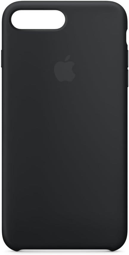 Apple iPhone 8 Plus / 7 Plus Silicone Case - Black