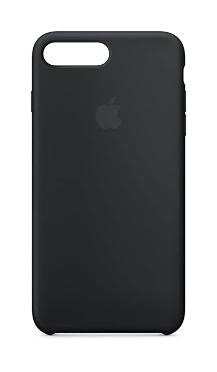 Amazon.com  Apple Silicone Case (for iPhone 8 Plus   iPhone 7 Plus) - Black  - MQGW2ZM A 5bbf1114e6