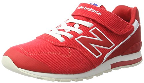 New Balance Unisex-Kinder 996 Sneaker Rot (Alpha Red)
