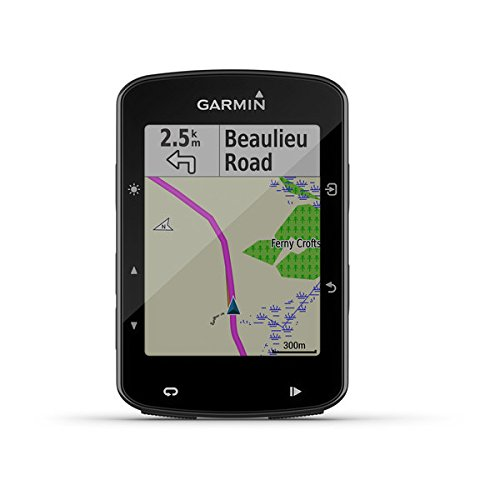 Mountain Heart Rate Monitor - Garmin Edge 520 Plus, GPS Cycling/Bike Computer for Competing and Navigation