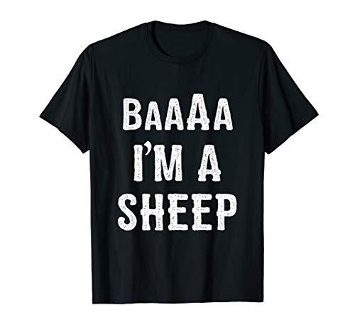 (I'm a Sheep Halloween Costume T)