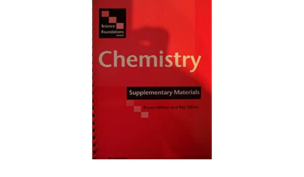 Amazon.com: Science Foundations: Chemistry Supplementary Materials ...