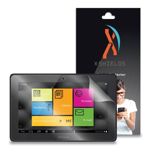 XShields© (3-Pack) Screen Protectors for Polaroid PTAB1050 10.1
