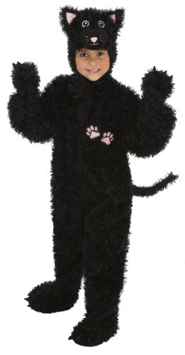 Just Pretend Kids Black Cat Animal Costume, Small (Cat Soft Costume)