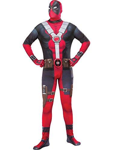 Rubie's Costume Co Marvel Men's Deadpool 2nd Skin Costume -