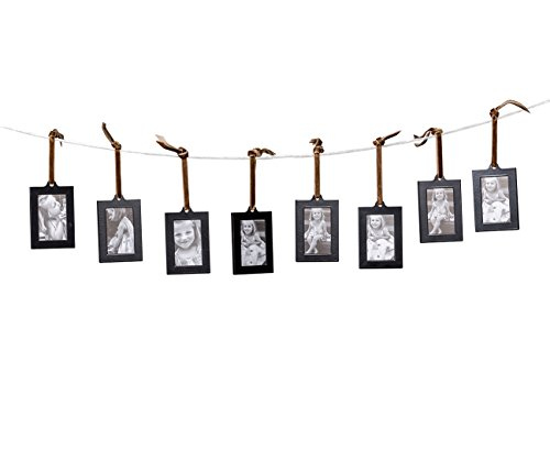 Klikel Hanging Picture Frame Ornaments, Set of 8