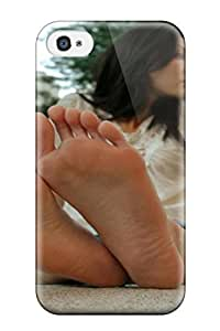 Hot Women Feet People Women First Grade Tpu Phone Case For Iphone 4/4s Case Cover