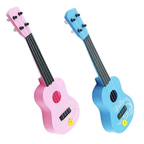 Baby Acoustic Guitar (Vktech® Kid's Baby 4 String Acoustic Guitar Wisdom Development Simulation Music)