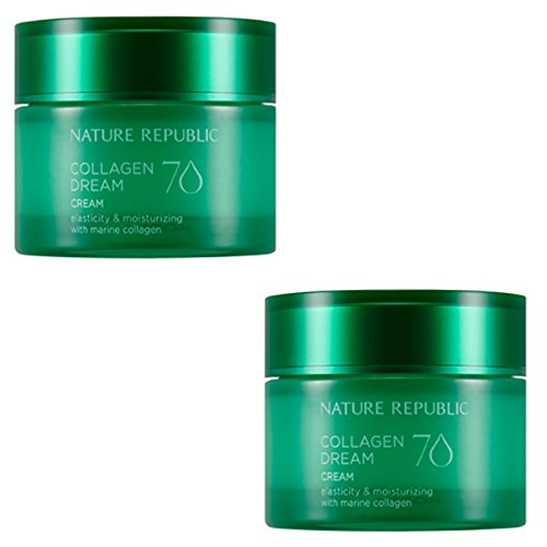 Nature Republic Collagen Dream 70 Cream 50 Ml 1 1 Moisturizing Improve Wrinkle Skin Care Elasticity Marine Collagen Acai Berry Hawaii Cona Deep Sea Water