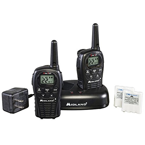 Midland LXT500VP3 22-Channel GMRS with 24-Mile Range (Gmrs Scanner Frs)