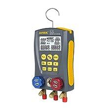 BELEY AUTOOL - Manómetro digital para refrigeración, analizador con 89 tipos de sistemas de refrigerante