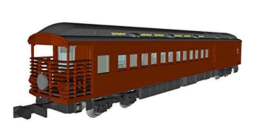 [해외] KATO N게이지 35 계 4000카운터 SL 야마구치호 5 양세트 10-1500 철도 모형 객차