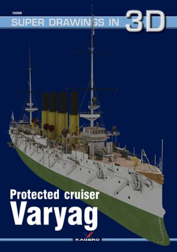 (Protected Cruiser Varyag (Super Drawings in 3D))