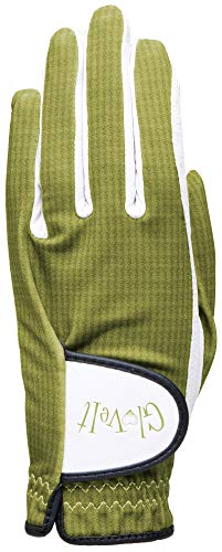 Women's Golf Glove - Glove It - Left Hand Golf Glove - 2019 Kiwi Check - Soft Cabretta Leather Gloves - UV Spectrum Protection - Ladies Performance Grip Gloves for Golfing & Sports (Large) ()