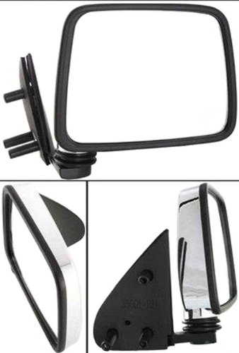 Alternator 3310CR Nissan D21 Passenger Side Replacement Mirror Manual Folding Non-Heated ()