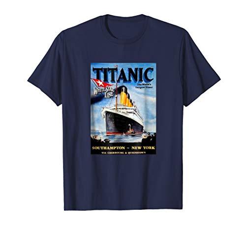 Titanic Vintage 1912 T Shirt