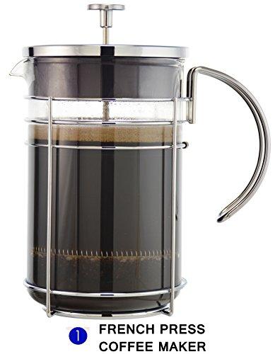Cold Press Coffee Maker Reviews : Grosche Madrid Premium French Press Coffee Maker Review Friedcoffee