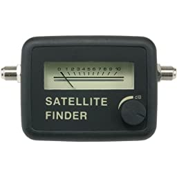 Axis PET10-6001 Satellite Finder Meter