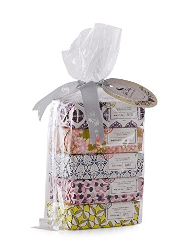 (Soap & Paper Factory Classic 5 Piece Shea Butter Soap Gift Set)