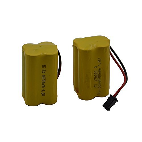 Blomiky 2 Cuboid 4.8V 800mAH Battery for F1 F3 RC Boat, used for sale  Delivered anywhere in Canada