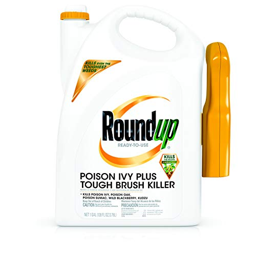 Roundup Ready-to-Use Poison Ivy Plus Tough Brush Killer Trigger (with Trigger Sprayer), 1 Gallon