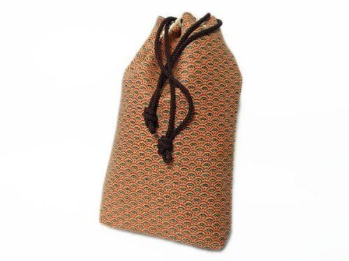 Inden Drawstring Bag Japan Original Craft 5752 Saraasa Seikaiha