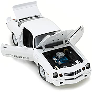 1981 Chevrolet Camaro Z/28 Yenko Turbo Z White 1/18 Diecast Model Car by Greenlight 12998