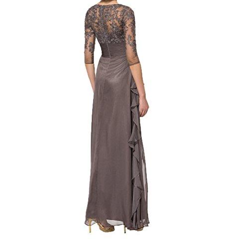 Promkleider Spitze Schwarz 4 Etuikleider Langarm Partykleider Abendkleider Mit Brautmutterkleider 3 Damen Charmant fPqPA