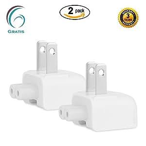 Amazon.com: Gratis® AC Power Adapter US Wall Plug Duckhead for Apple