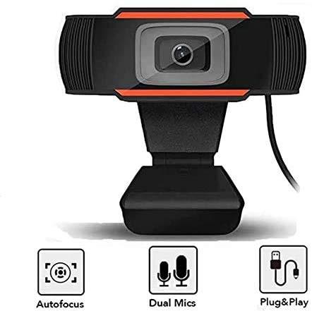 HD Webcam Streaming Web Camera with Dual Microphones, Webcam for Gaming Conferencing & Working, Laptop or Desktop Webcam…