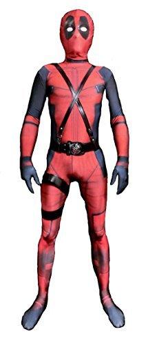 (ReliCos Lycra Spandex Zentai Costumes Kids 3D Halloween)