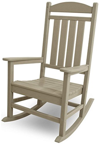 Premium Quality Patio Outdoor/Indoor Rocking Chair Wooden Furniture Chairs For Porch, Garden Deck, Beach Side And All Weather Seasons (Oiled)