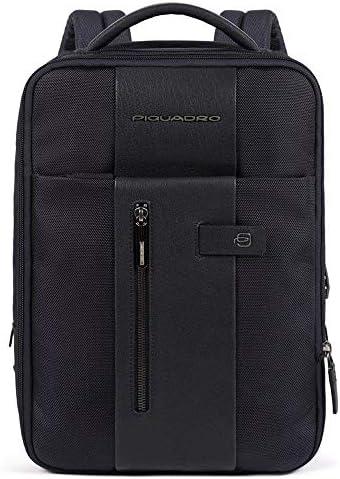 Piquadro Brief Laptoprucksack mit iPad-Fach 38 cm Blue