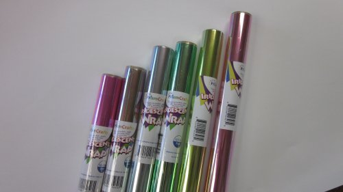 "Iridescent Wrap - Assorted Colors - 6 Pack - Six Rolls of 30"" X 5'"