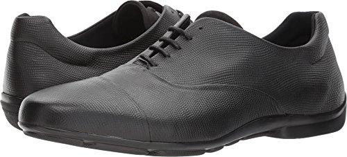 Emporio Armani Men's Soft Leather Cap Toe Oxford Black 9 M - Armani Uk Mens