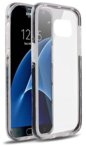 Samsung Galaxy S7 Edge Case,  Premium Transparent Shock Absorption Slim Stylish TPU Protective Cover